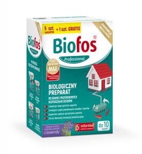 Biologiczny preparat do szamb i przydomowych oczyszczalni ścieków 5szt. saszetek +1szt. GRATIS